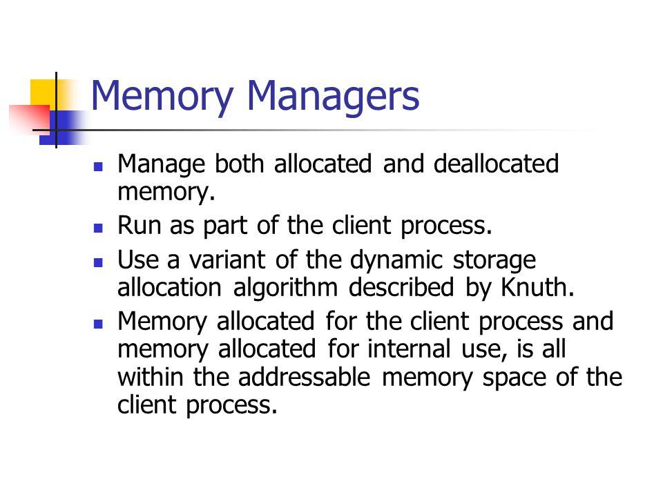 Common Dynamic Memory Errors Initialization Programmer assumes that malloc() zeroes block.