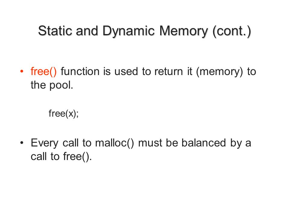 /* Request a block of memory large enough to hold the requested number of integers.