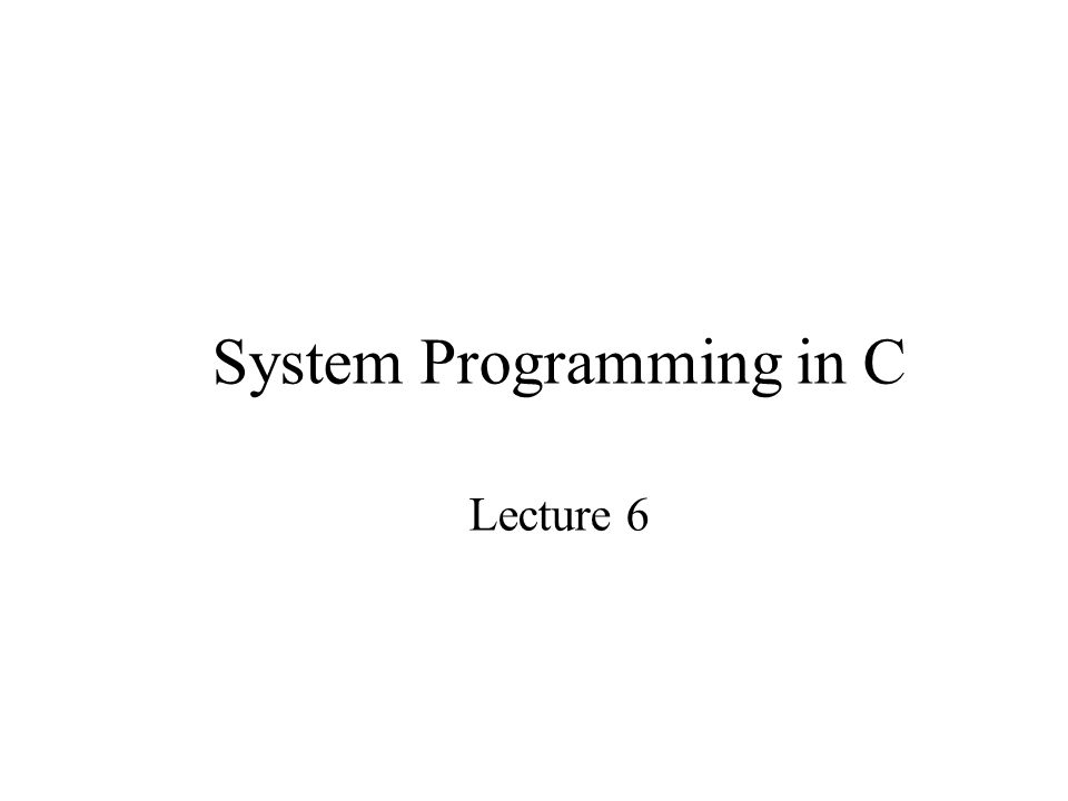 Summary of Lecture 6 Pointers and Arrays Function arguments Dynamic memory allocation Pointers to functions 2D arrays
