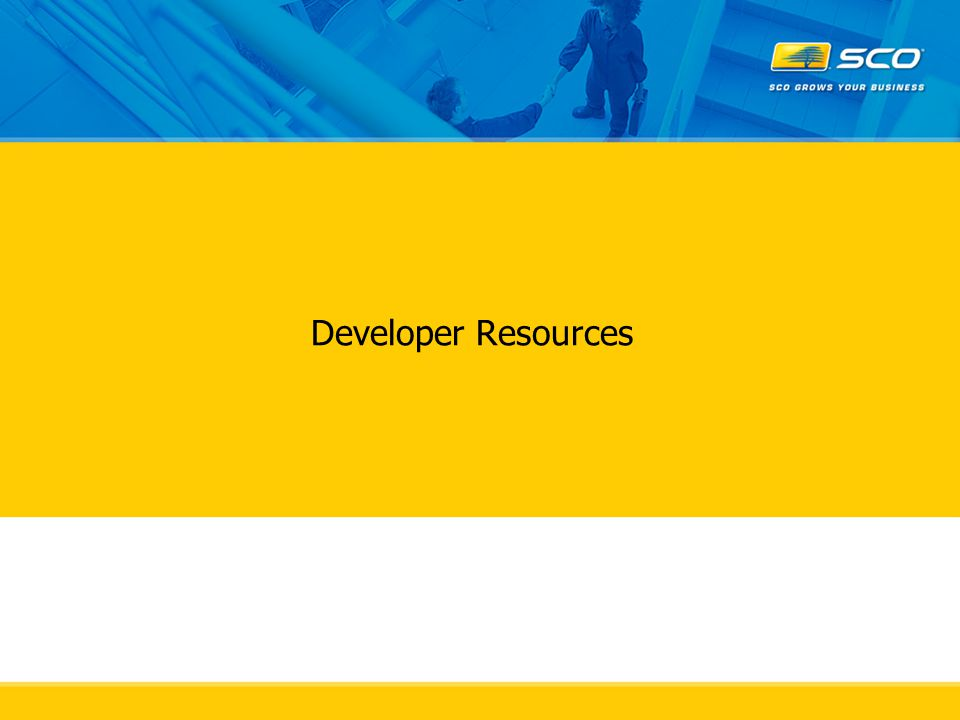Developer Resources