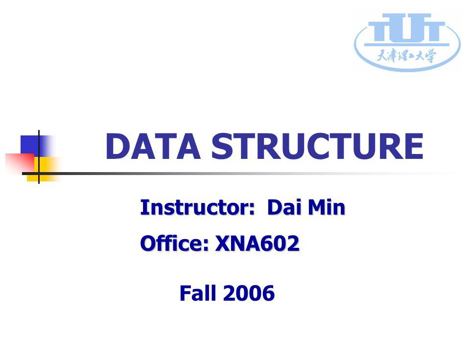 课程代码: 0666126 School of Computer Science &Technology 42 2) Doubly linked list implementation Typedef struct DuLnode{ Typedef struct DuLnode{ ElemType data; // Data Field ElemType data; // Data Field Struct DuLnode * prior, *next; // Pointer Field Struct DuLnode * prior, *next; // Pointer Field}DuLnode,*DuLinkList; p->next->prior = p->prior->next