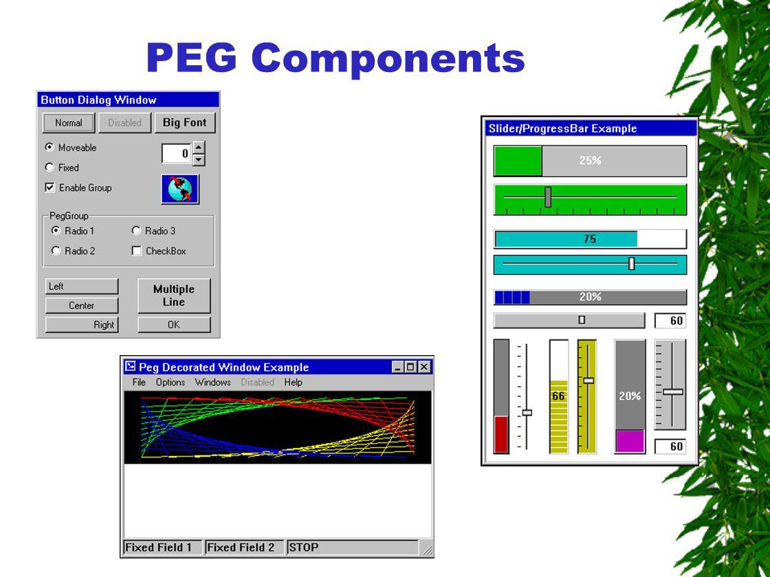 PEG Components