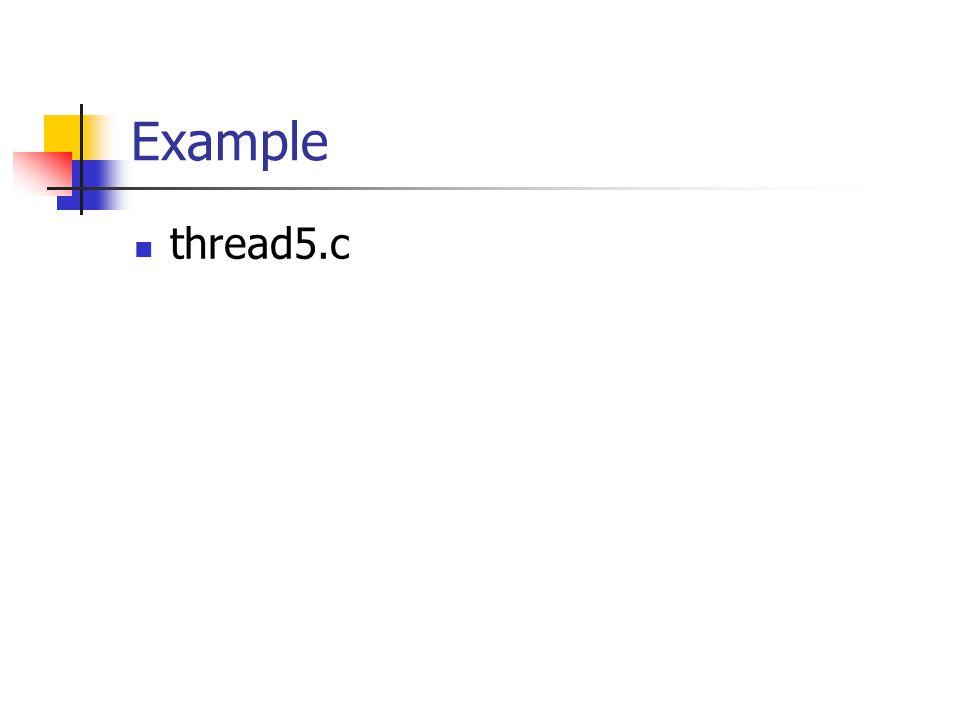 Example thread5.c