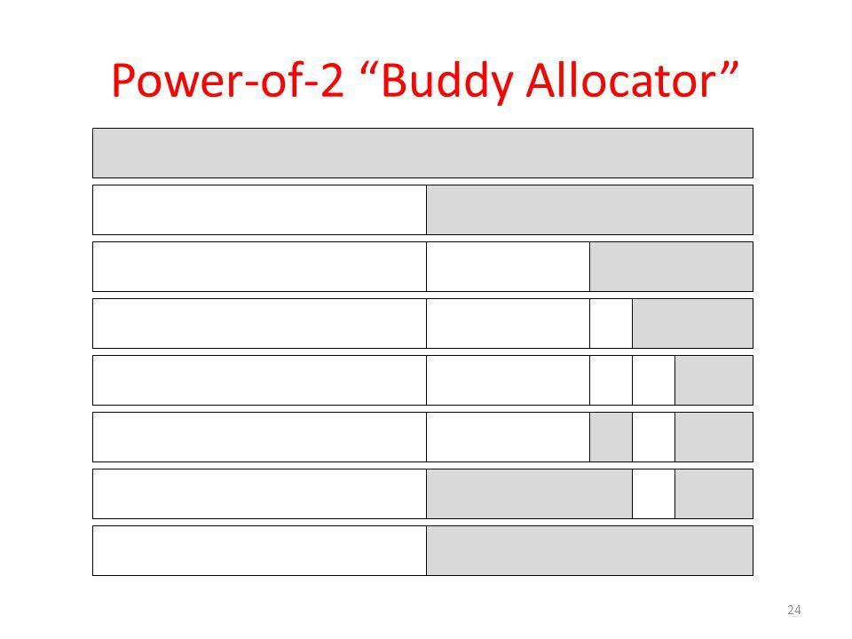 "Power-of-2 ""Buddy Allocator"" 24"