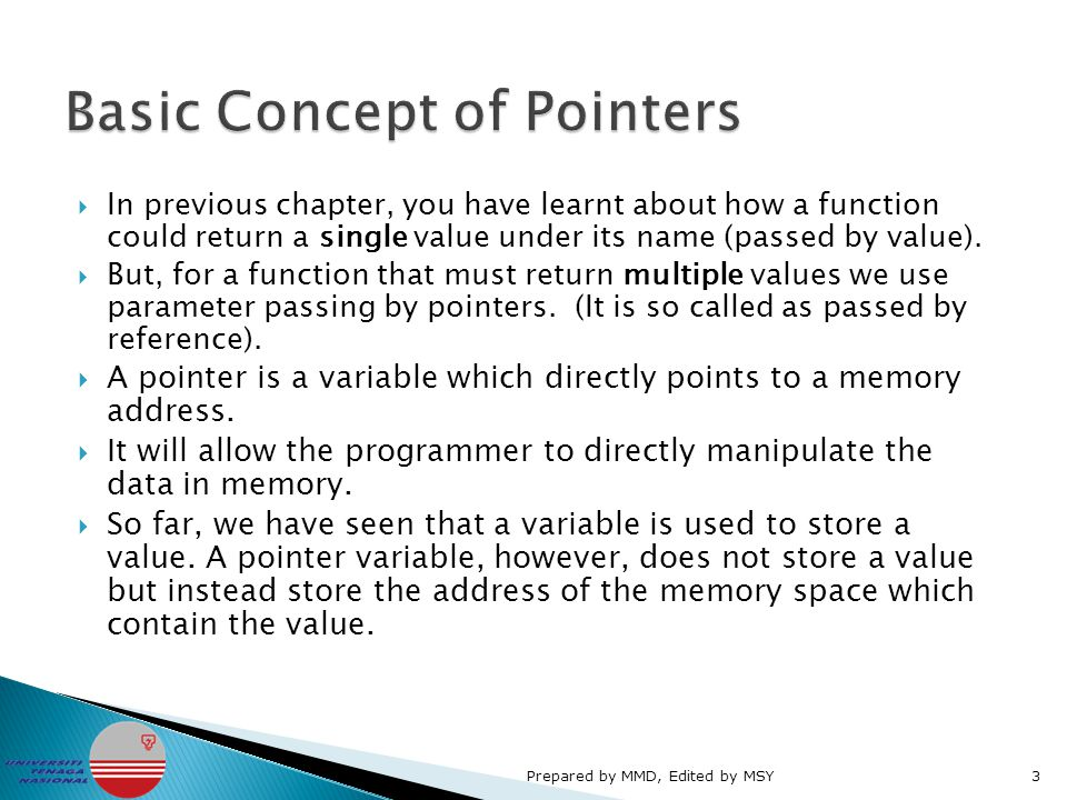  Why would we want to use pointers.