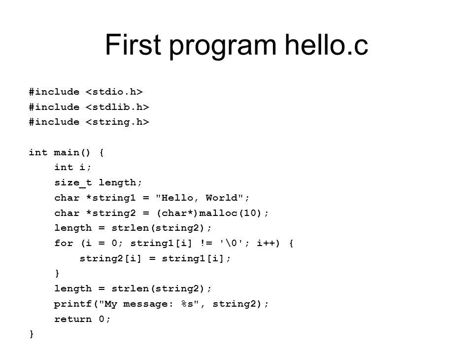 ex9.cpp void main(int argc, char** argv) { int *pi = (int*) malloc(4 * sizeof(int)); delete pi; pi = new int[5]; delete pi; }