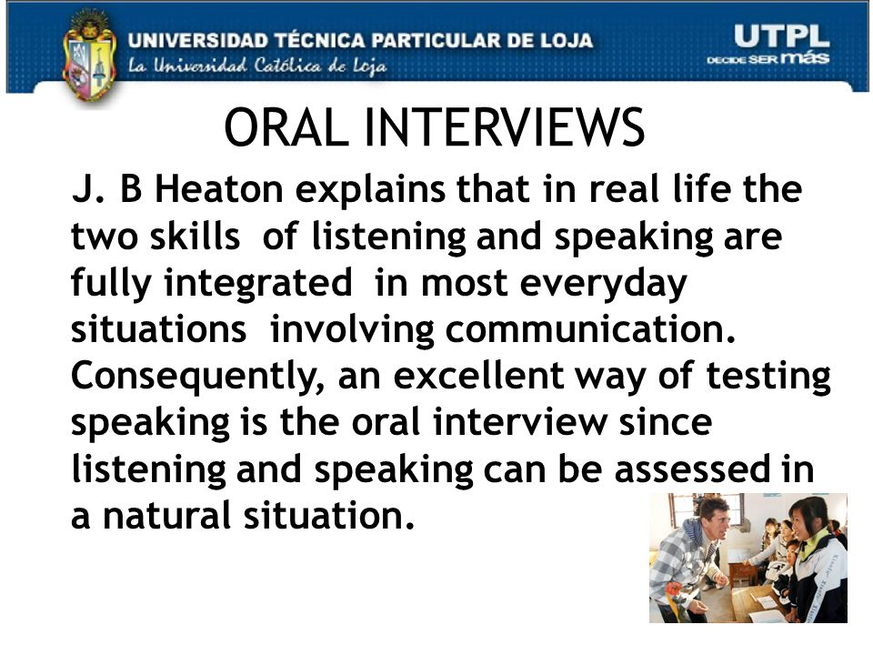 34 ORAL INTERVIEWS J.