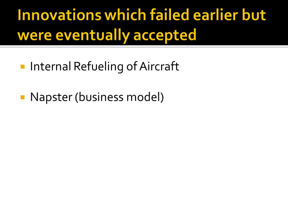  Internal Refueling of Aircraft  Napster (business model)