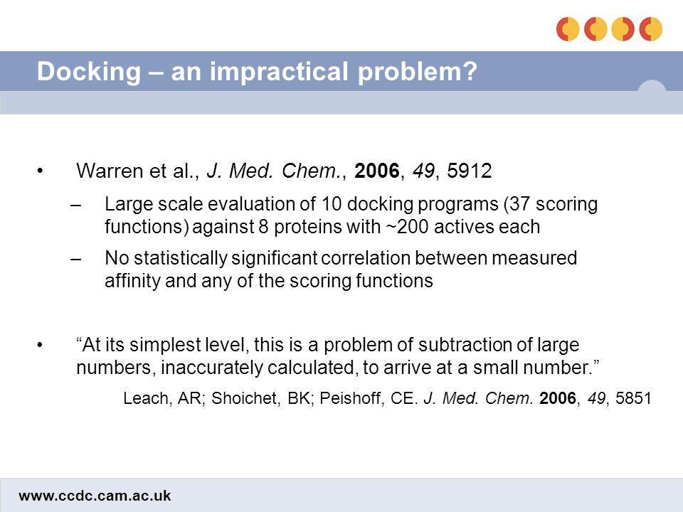 www.ccdc.cam.ac.uk A practical solution Pham, T.A.; Jain, A.