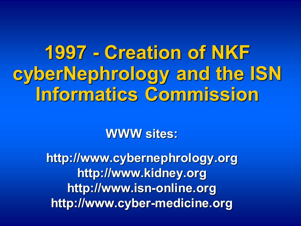 Contact Kim.Solez@UAlberta.CA To subscribe to NEPHROL and/or NEPHDEVEL send Email to majordomo@Ualberta.CA with the message subscribe nephrol subscribe nephdevel
