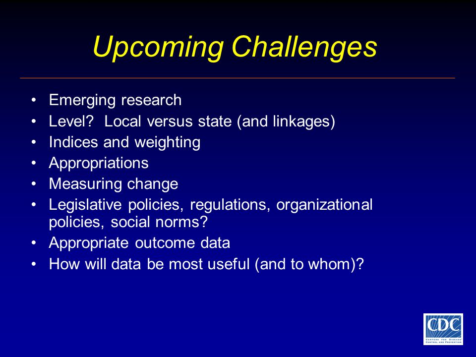 Upcoming Challenges Emerging research Level.