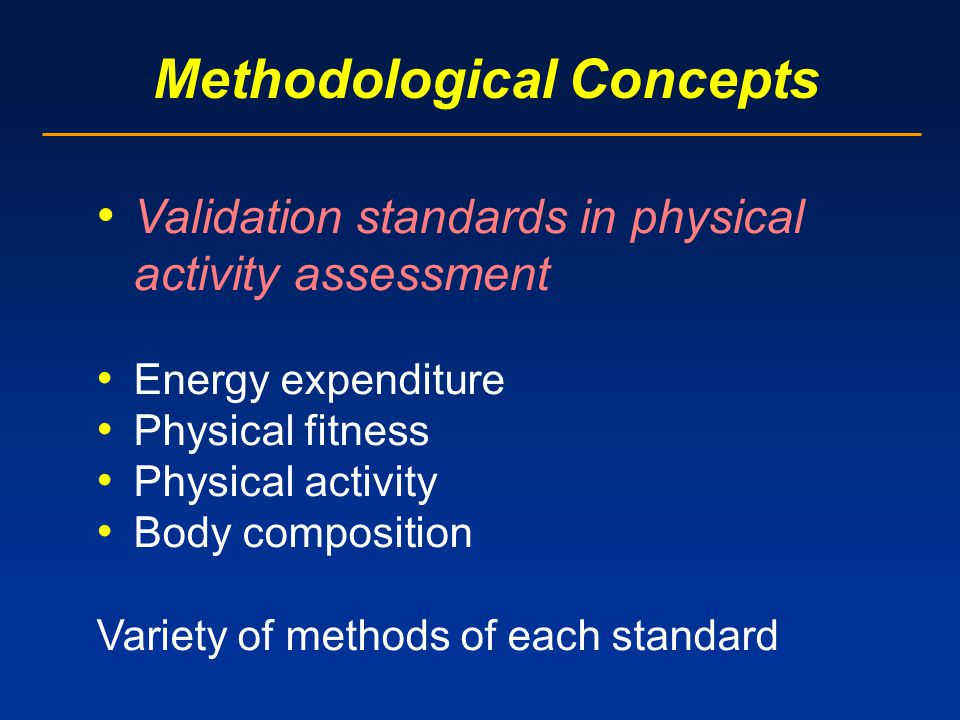 Methodological Concepts Practicality Non-reactivity