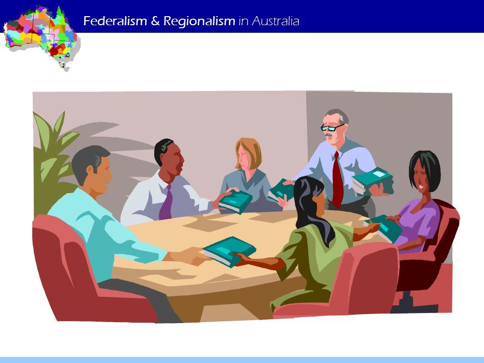 Federalism & Regionalism in Australia