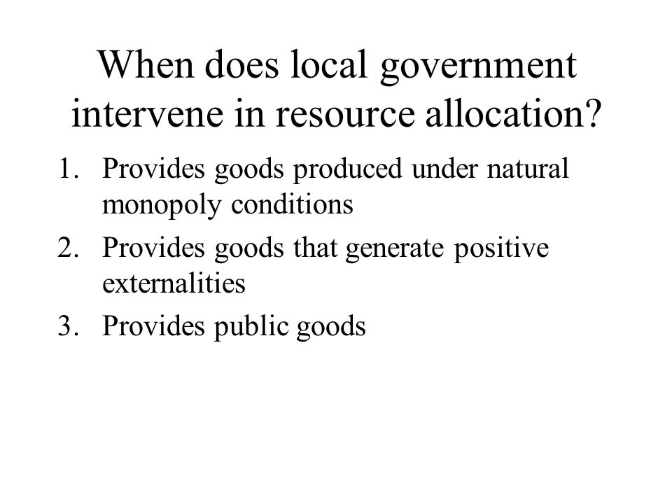 Externalities Represent a market failure Where one person or firm's consumption of a good creates benefits or costs for others Individual makes a personally efficient decision (I.e.