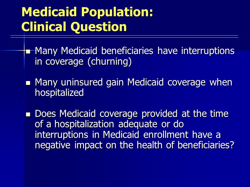 Children with Continuous Medicaid Enrollment by Time Period 49 62 Years of Enrollment Percentage