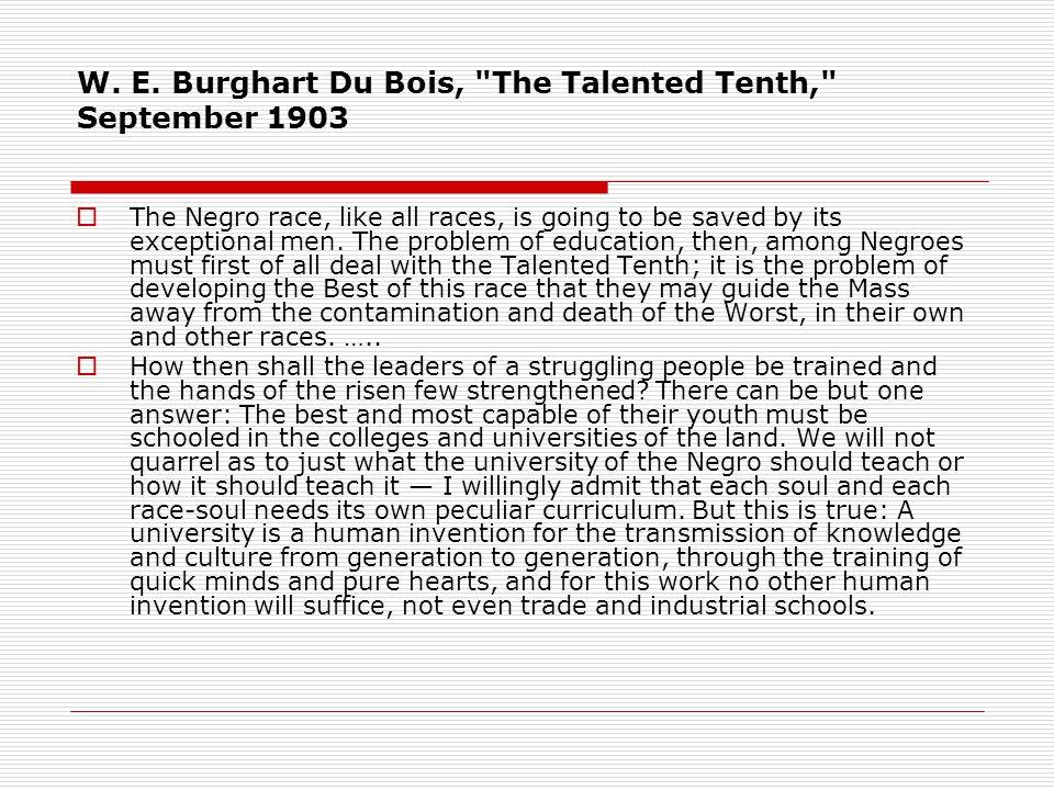W. E. Burghart Du Bois,