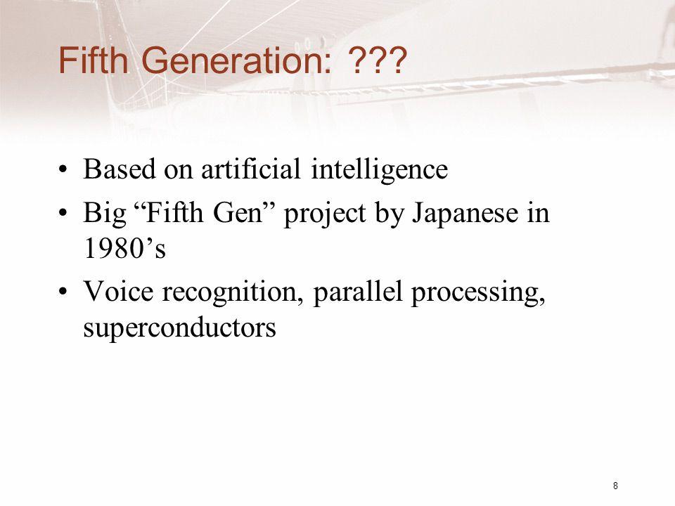 Fifth Generation: ??.