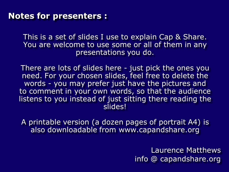 Cap & Share Chapter 1 - Basics diagrams