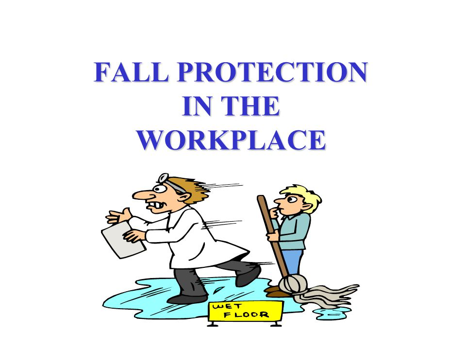 FALL PROTECTION QUIZ Circle TRUE or FALSE for each of the statements below: 1.Falls can cause about 11,000 on-the-job deaths each year.