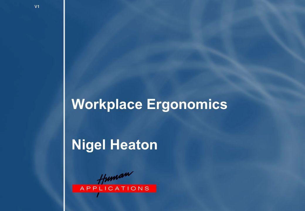 1 What is ergonomics.