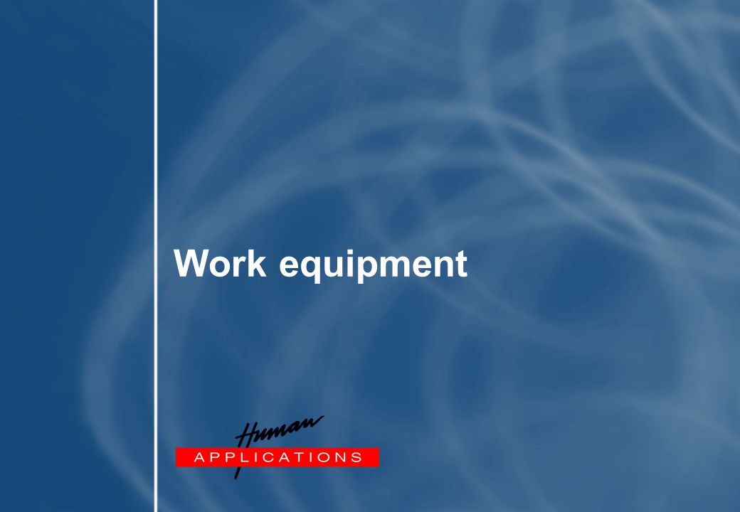 Work equipment