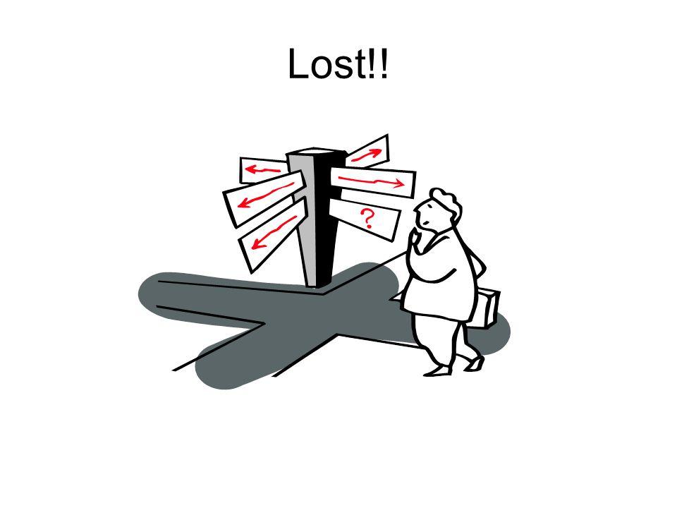 Lost!!