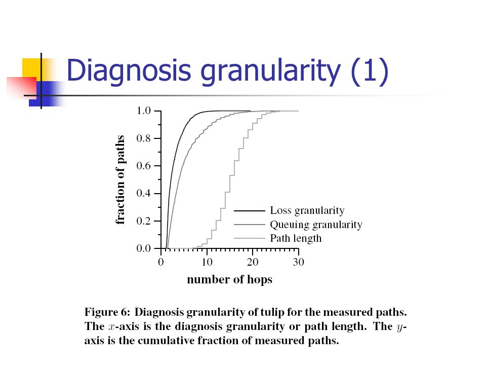 Diagnosis granularity (1)