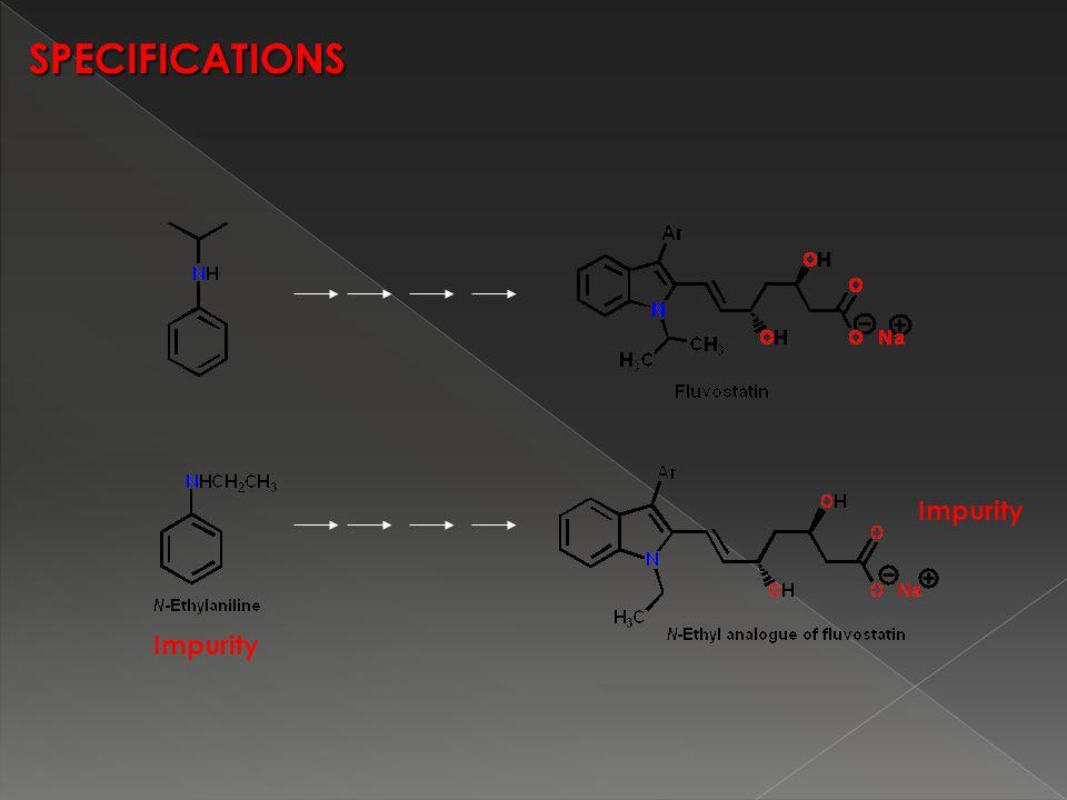 SPECIFICATIONS Impurity