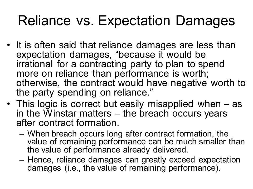Reliance vs.
