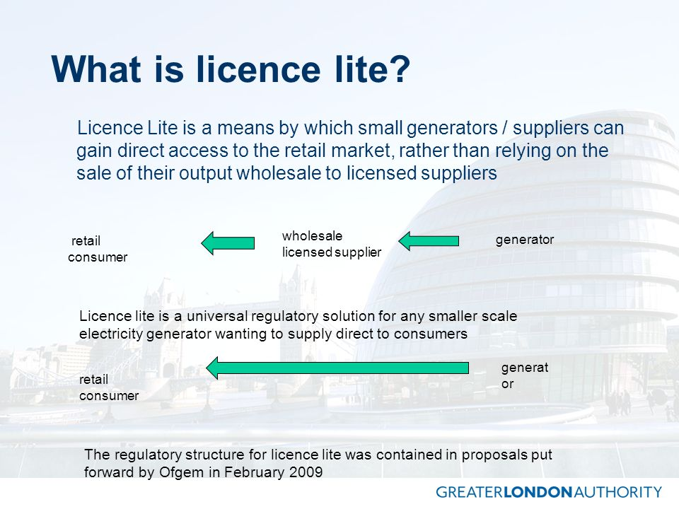 What is licence lite.