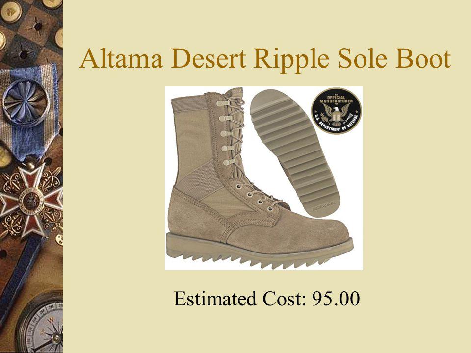 Altama Desert Ripple Sole Boot Estimated Cost: 95.00