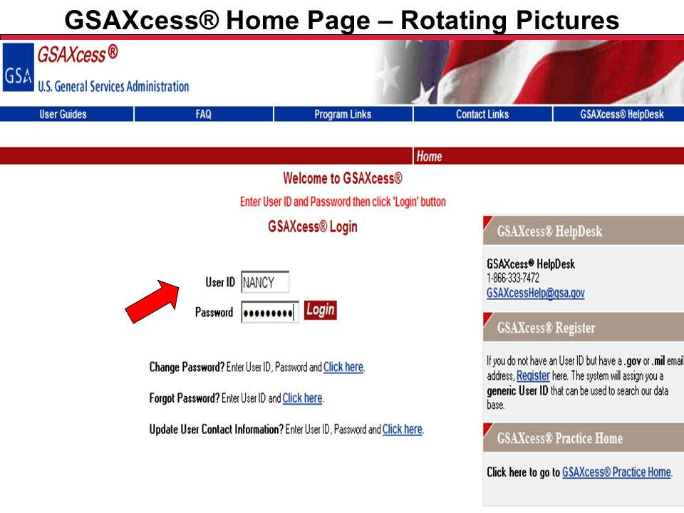 Federal Acquisition Service U.S. General Services Administration GSAXcess® Home Page – Rotating Pictures