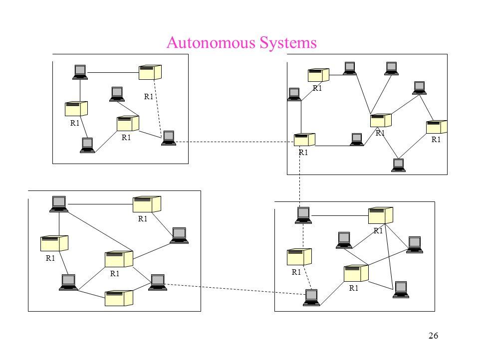 26 Autonomous Systems R1