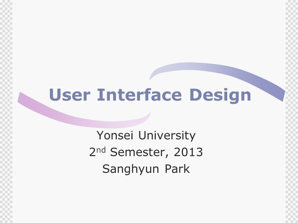 Topics Covered  Design Issues  UI Design Process  Interface Evaluation
