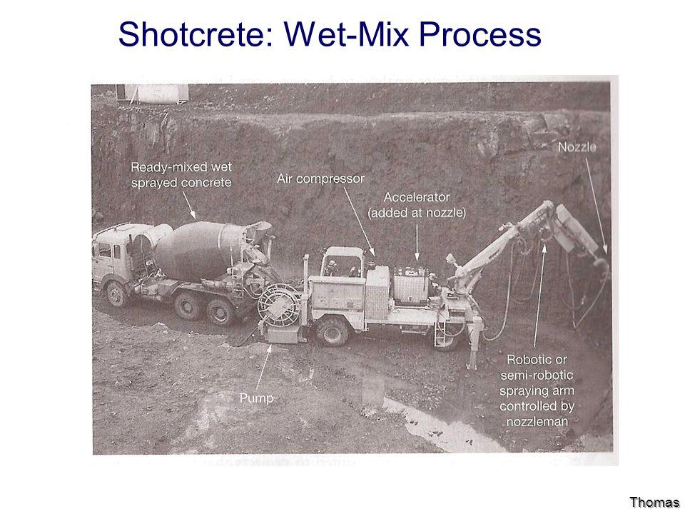 Shotcrete: Wet-Mix Process Thomas