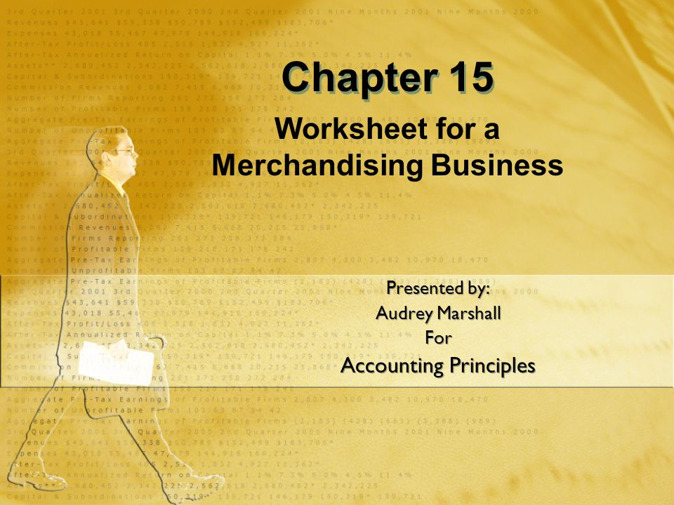 Chapter Overview Financial Information Using a Worksheet for a Merchandising Business Recording Payroll Recording Employer Payroll Taxes Reporting Withholding and Payroll Taxes Paying Withholding and Payroll Taxes Financial Information Using a Worksheet for a Merchandising Business Recording Payroll Recording Employer Payroll Taxes Reporting Withholding and Payroll Taxes Paying Withholding and Payroll Taxes