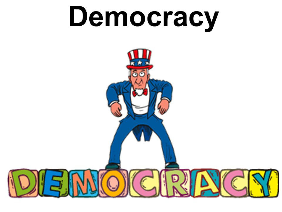 What is a democracy.