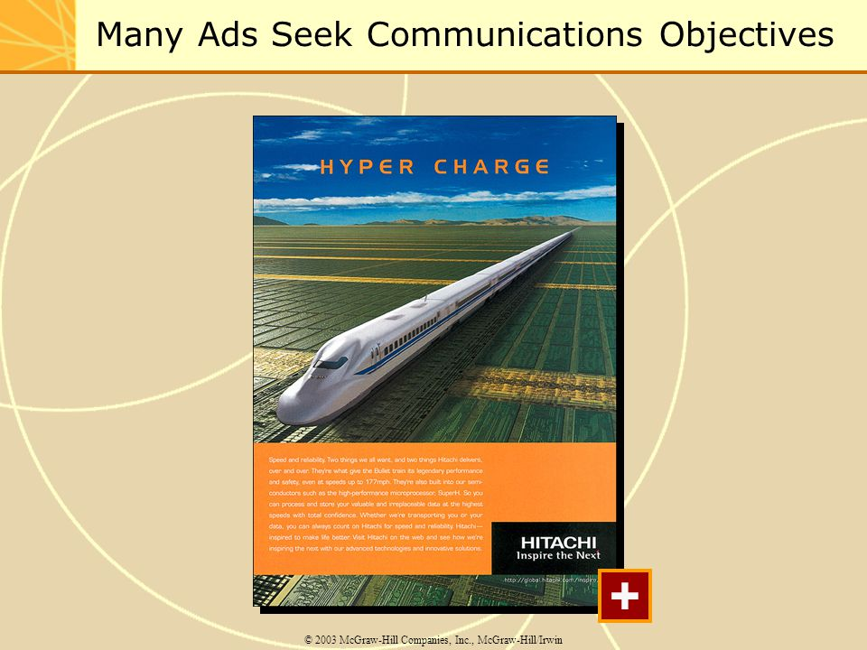 Many Ads Seek Communications Objectives © 2003 McGraw-Hill Companies, Inc., McGraw-Hill/Irwin +