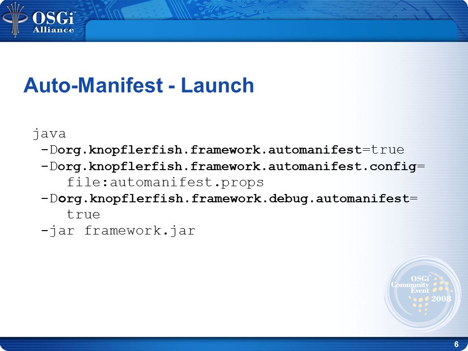 27 Upcoming changes Today the patching engine is part of the framework.