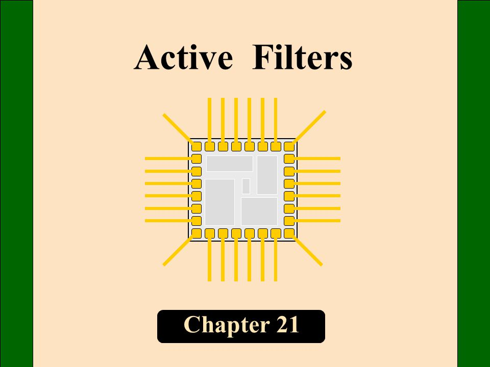 Chapter 21 Active Filters