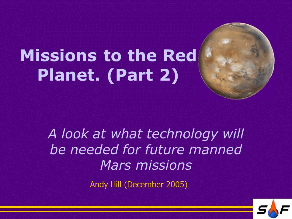 Missions to the Red Planet.