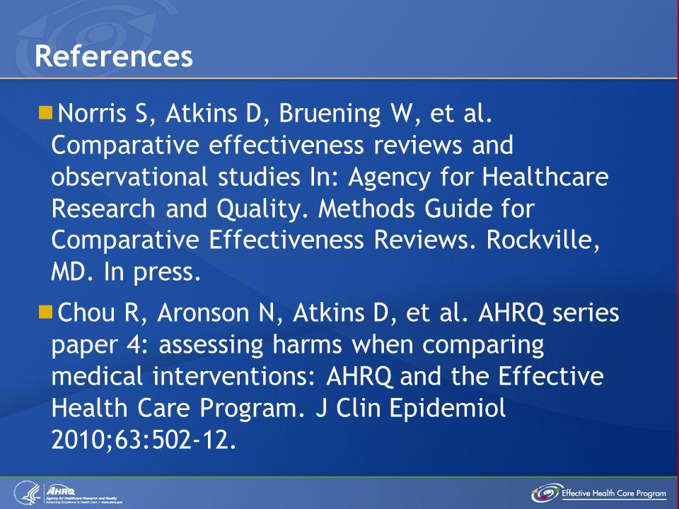 Norris S, Atkins D, Bruening W, et al.