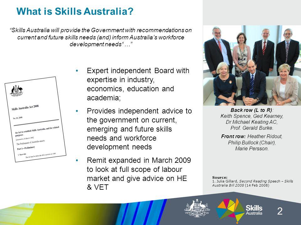 What is Skills Australia.