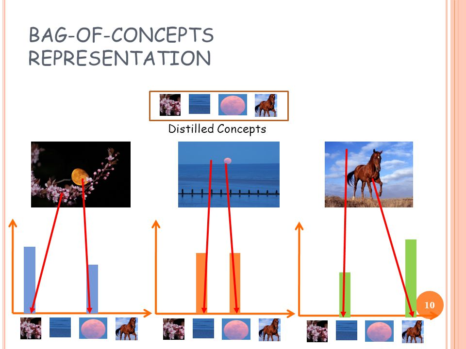BAG-OF-CONCEPTS REPRESENTATION Distilled Concepts 10