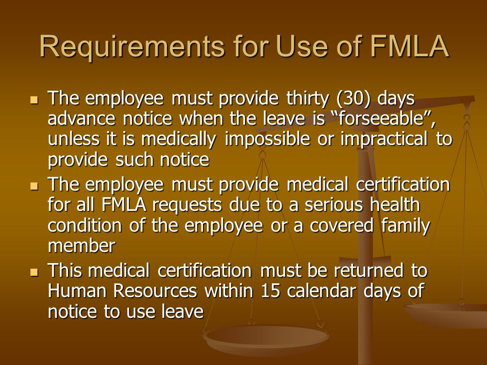 FMLA Leave Usage LCTCS Board of Supervisors requires that employees use available paid leave prior to using FMLA leave without pay LCTCS Board of Supervisors requires that employees use available paid leave prior to using FMLA leave without pay Paid leave time, as well as any unpaid leave used for any qualifying condition, will count toward the twelve weeks of FMLA leave Paid leave time, as well as any unpaid leave used for any qualifying condition, will count toward the twelve weeks of FMLA leave