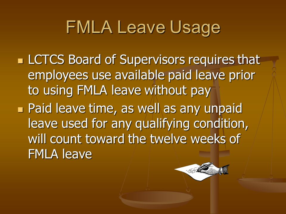 Intermittent FMLA Intermittent leave is also allowed under FMLA, with the same requirements for medical certification and leave usage Intermittent leave is also allowed under FMLA, with the same requirements for medical certification and leave usage