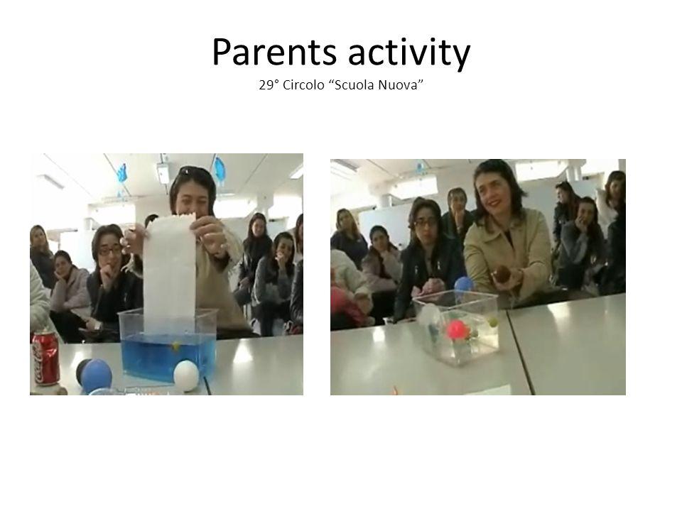 Parents activity 29° Circolo Scuola Nuova