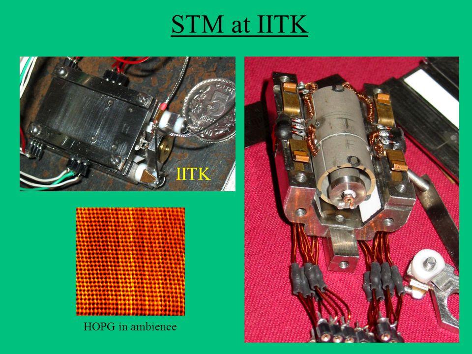 STM at IITK IITK HOPG in ambience