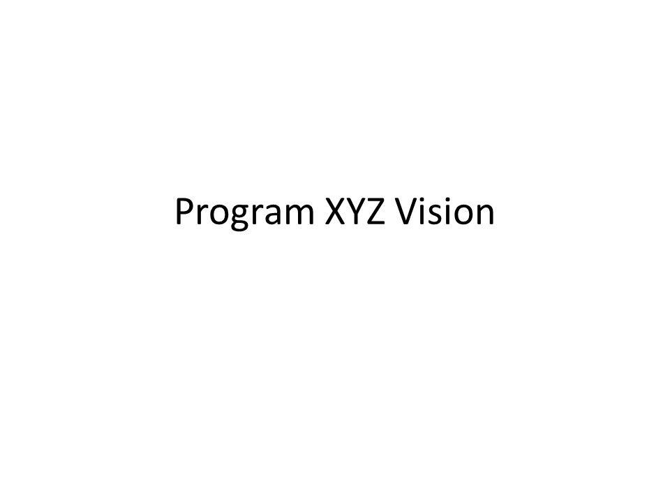 Program XYZ Vision