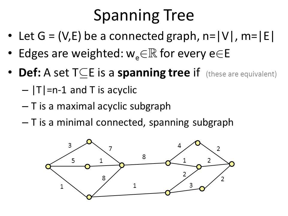 Ellipsoid method inside Ellipsoid method Minimum Spanning Tree Problem Minimum S-T Cut Problem Solve by Ellipsoid Method Separation oracle uses… Solve by Ellipsoid Method.